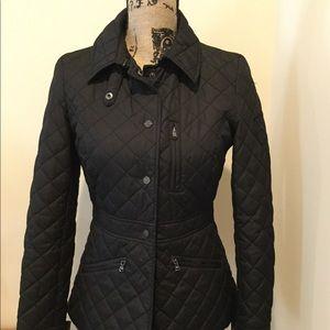 Ralph Lauren black quilted jacket